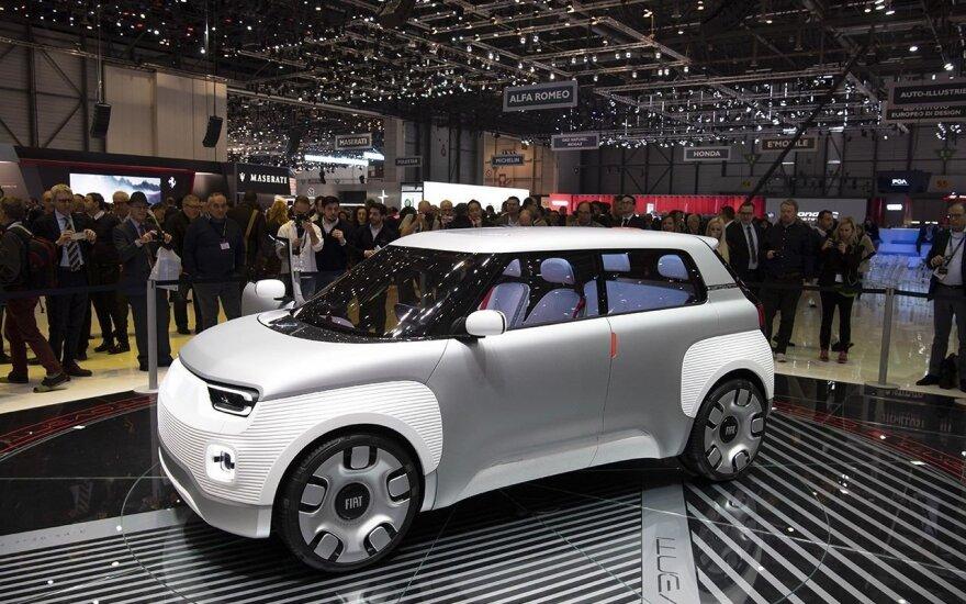 """Fiat Centoventi"" elektromobilis"