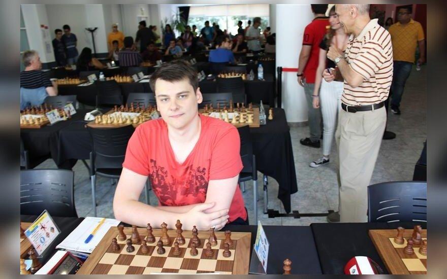 Titas Stremavičius (Lietuvos šachmatų federacijos nuotr.)