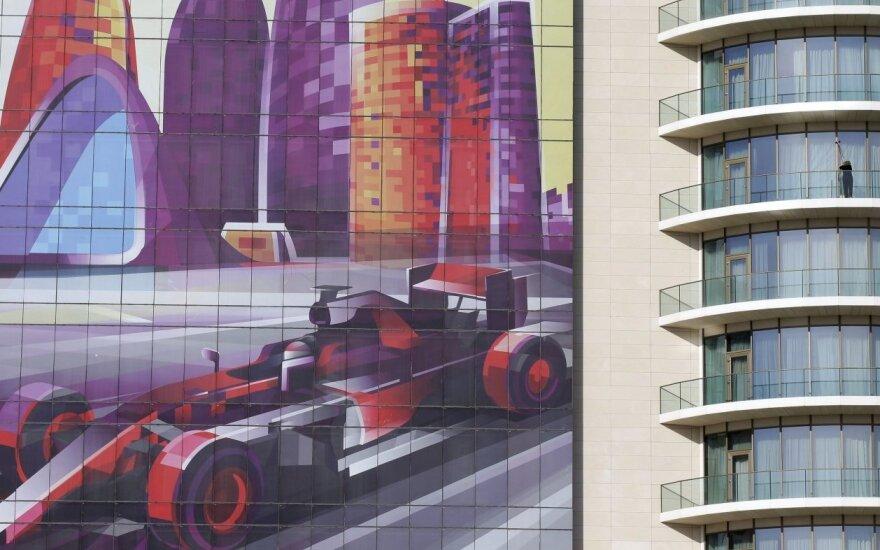 """""""Formulės 1"""" lenktynės – naujoje trasoje"""