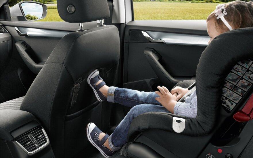 Vaikų vežimą reglamentuoja aiškios taisyklės