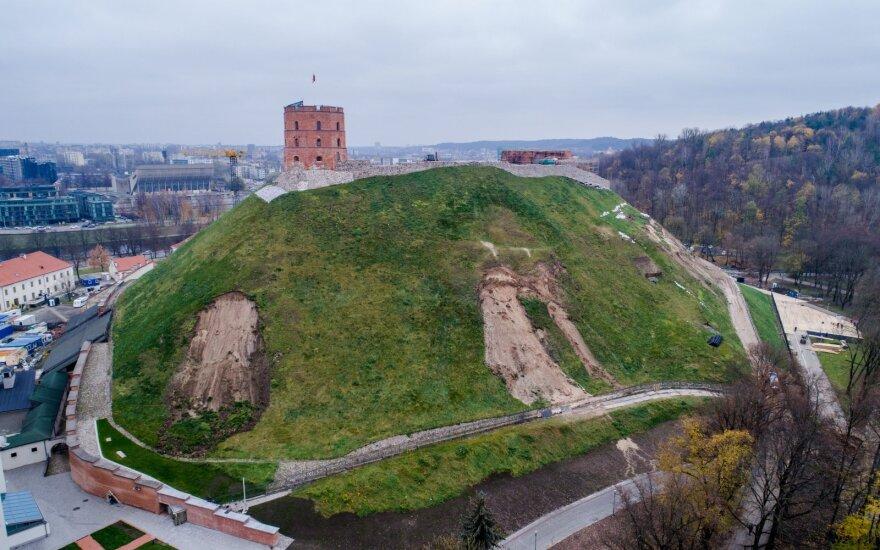 Naujas radinys Gedimino kalno papėdėje: surastas paskutinis nežinomas Žemutinės pilies bokštas