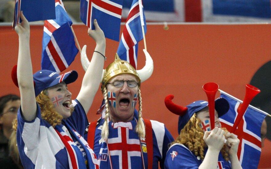Lietuvos jaunimo rankinio rinktinė nusileido Islandijai
