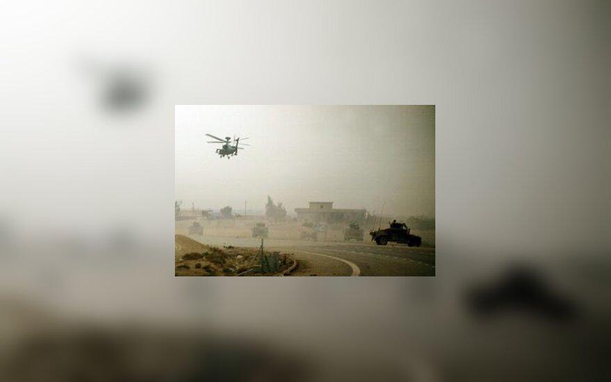Amerikiečių sraigtasparniai Faludžoje, JAV kariuomenė, karas Irake