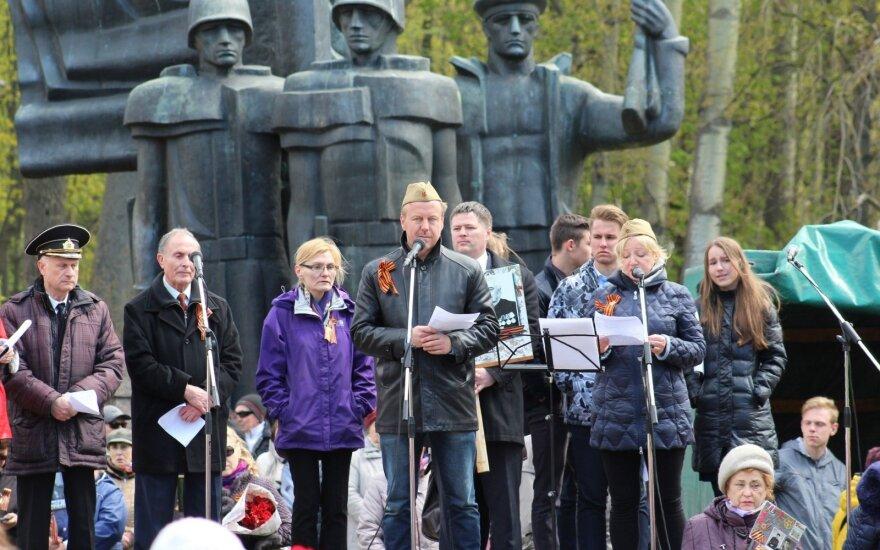 Mitinge Klaipėdoje – sovietinių vadovėlių istorijos
