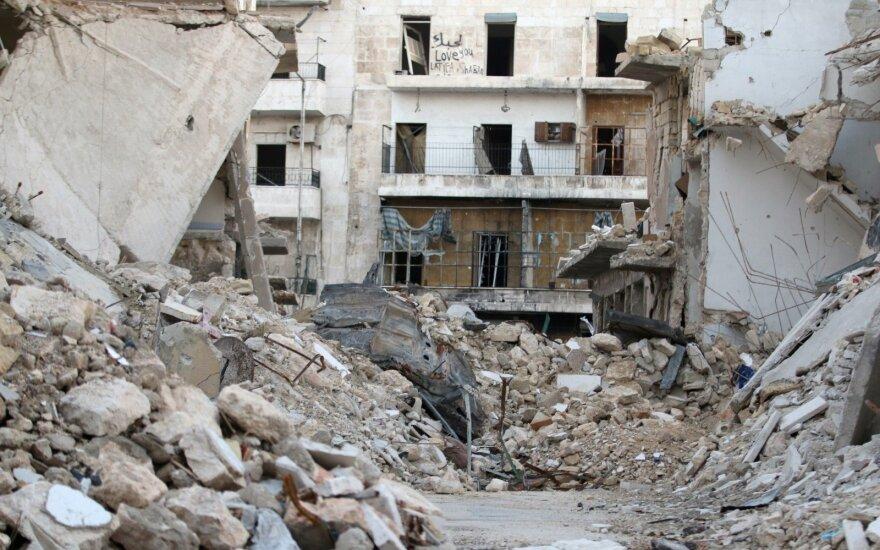 Ženevoje prasideda Sirijos taikos derybos