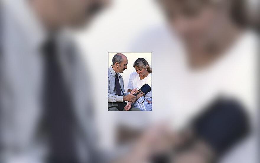 Gydytojas ir pacientas
