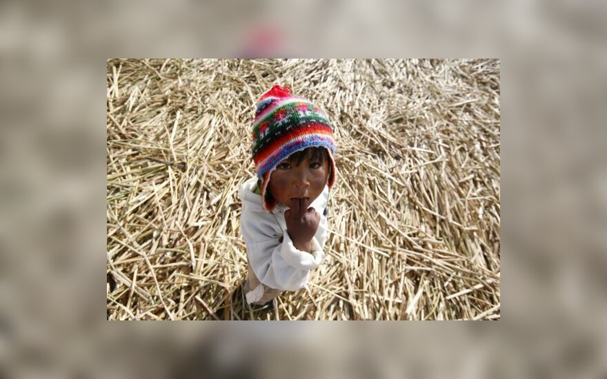 Peru spaudžiant stipriam šalčiui mirė maždaug 250 vaikų