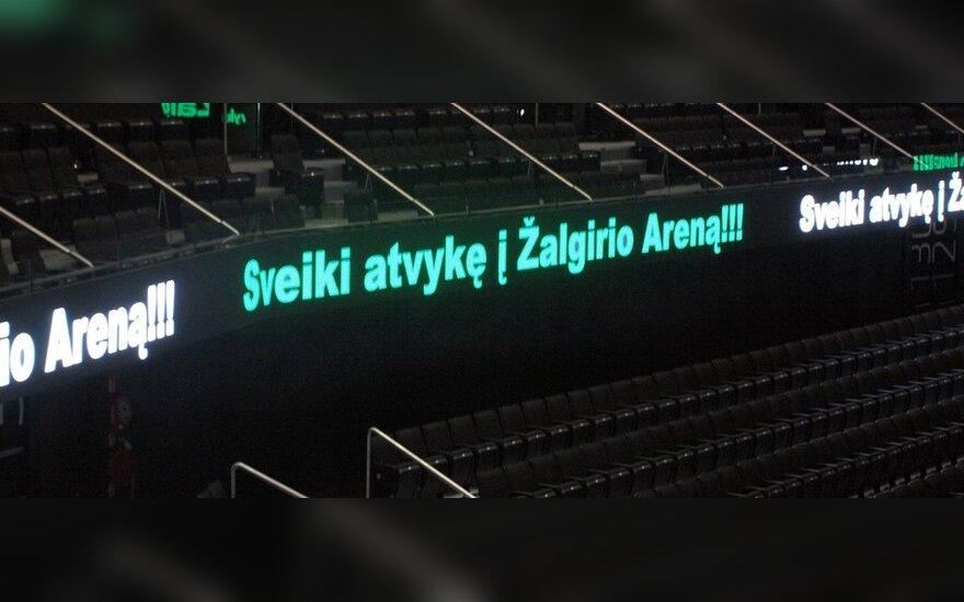 """Kauno """"Žalgirio"""" arena"""