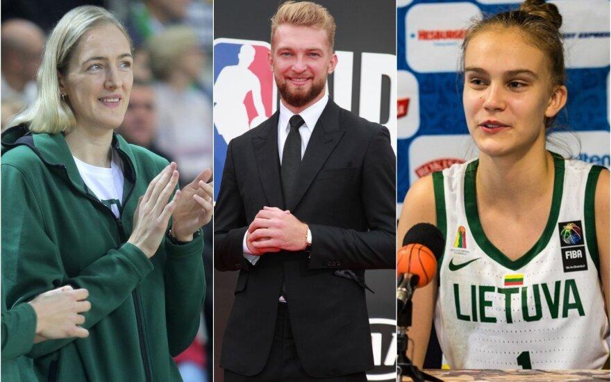 Paskelbti geriausi Lietuvos metų krepšininkai – Sabas dėkojo sūnaus vardu