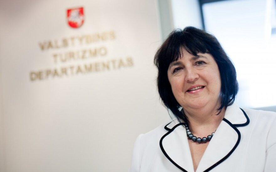 State Tourism Departmen head Raimonda Balnienė