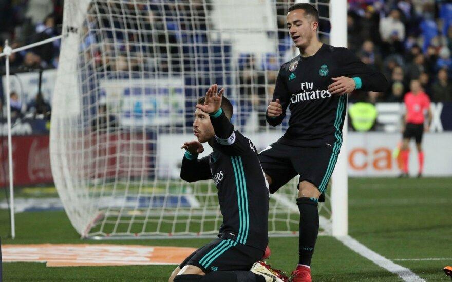 """""""Real"""" laimėjo be Ronaldo ir pakilo į prizinę vietą"""