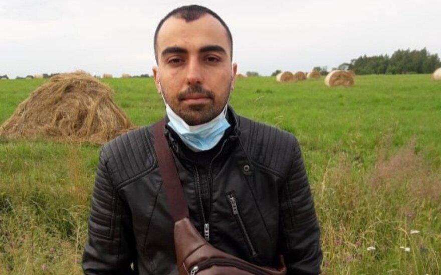 Ignalinoje pabėgo koronavirusu užsikrėtęs Afganistano pilietis