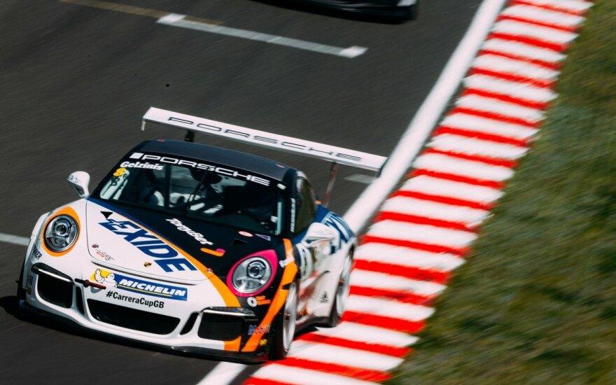 Trečiasis Porsche Carrera Cup GB etapas