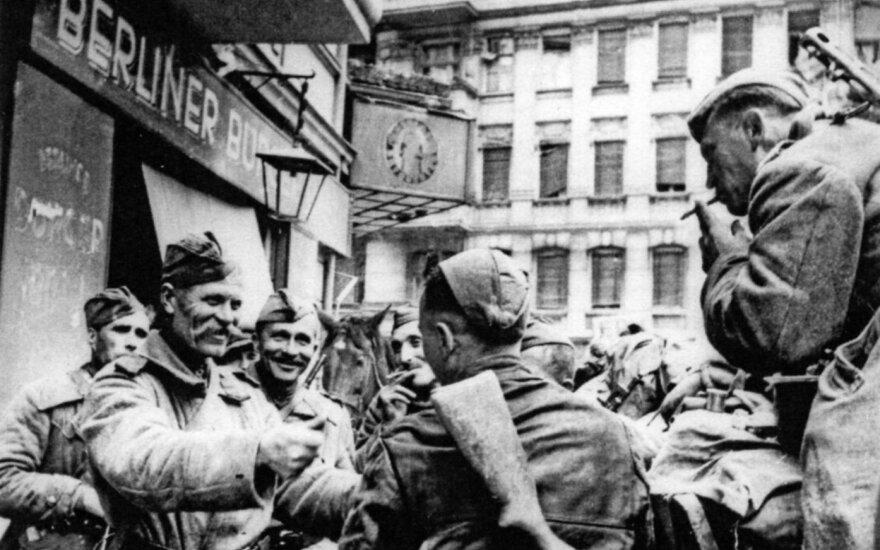 Rusų pėstininkai Berlyne