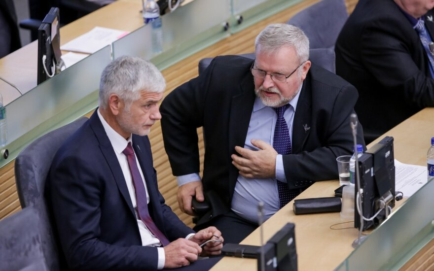 Bronius Markauskas ir Andriejus Stančikas