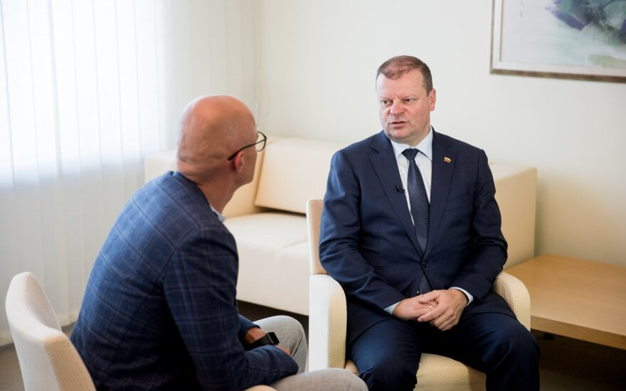 Skvernelis announces decision to stay as Prime Minister