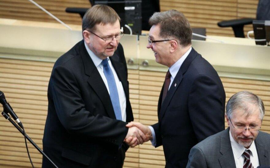 Juozas Bernatonis ir Algirdas Butkevičius