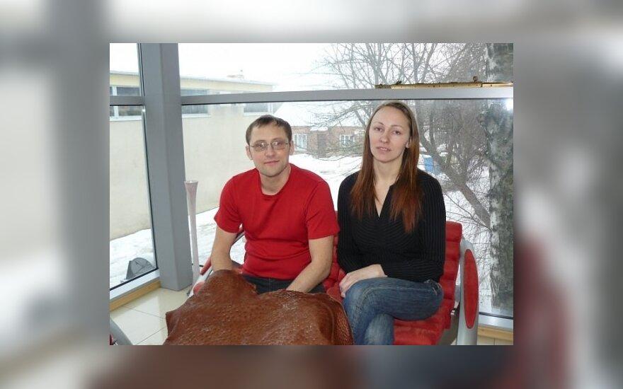Žanas ir Jurgita Maslauskai
