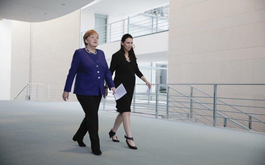 Angela Merkel, Jacinda Ardern