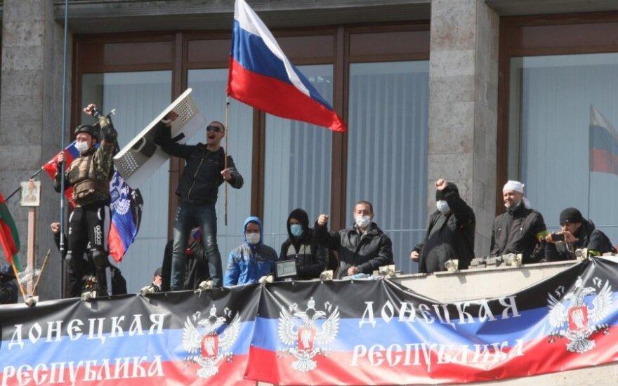 Deputatas: separatistus Luhanske finansavo V. Janukovyčiaus šeima