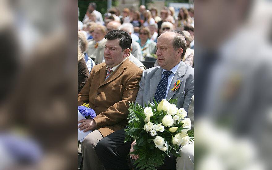 Emanuelis Zingeris ir Andrius Kubilius