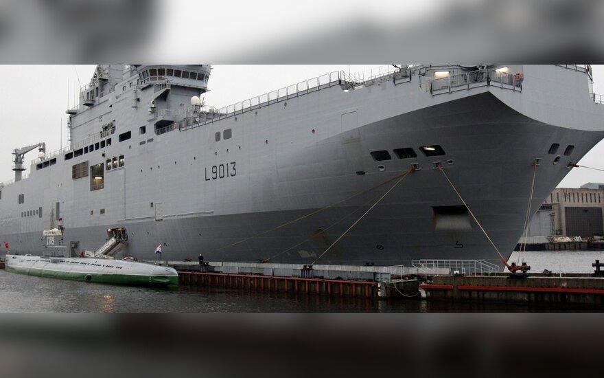 Diplomatas: Prancūzija nė už ką neišsižadės sandorio su Rusija