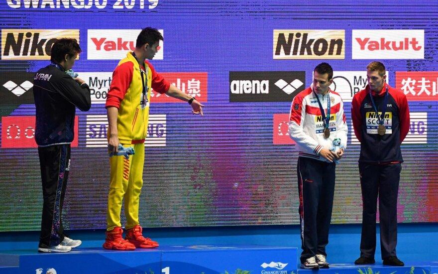 Pasaulio plaukimo čempionatas, apdovanojimų ceremonija