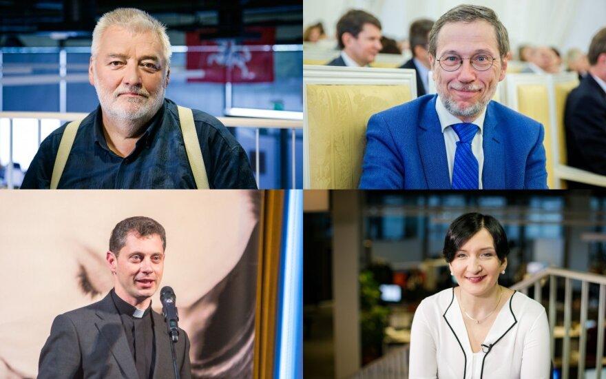 Alfredas Bumblauskas, Liudas Mažylis, Ričardas Doveika, Austėja Landsbergienė