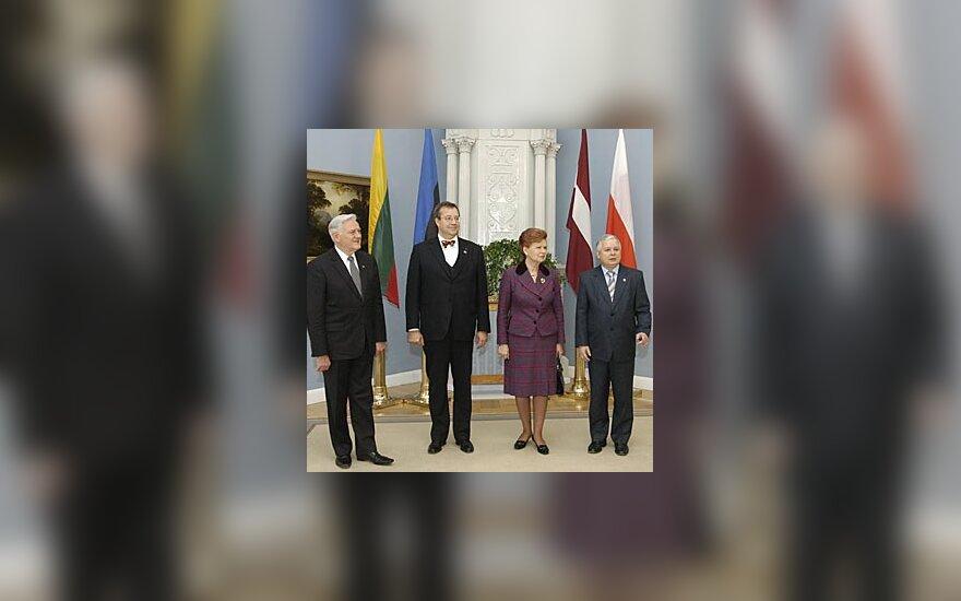 Baltijos šalių ir Lenkijos prezidentai