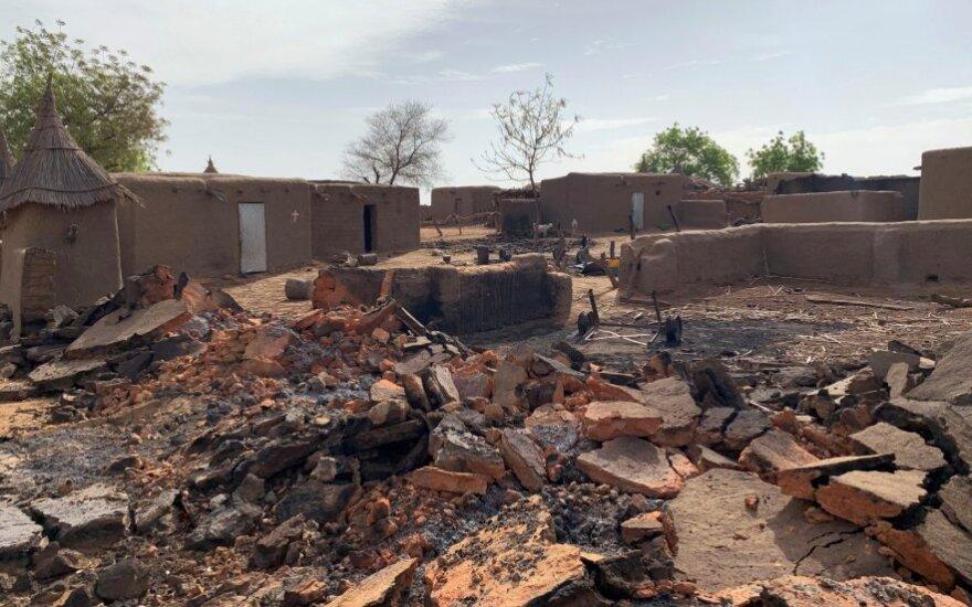 Džihadistų išpuolis Soban Ku kaime