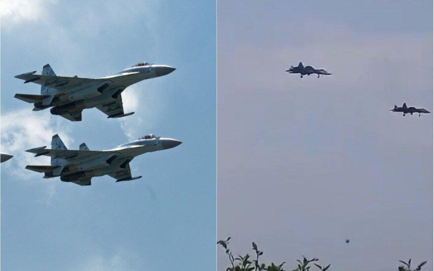 Su-35 ir Su-57