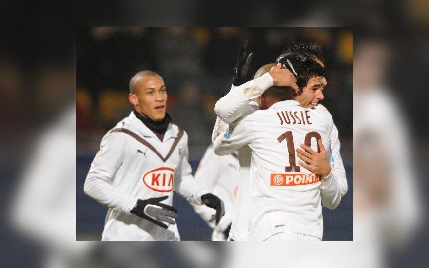 """Prancūzijos lygos taurės savininkas """"Bordeaux"""" pateko į turnyro ketvirtfinalį"""