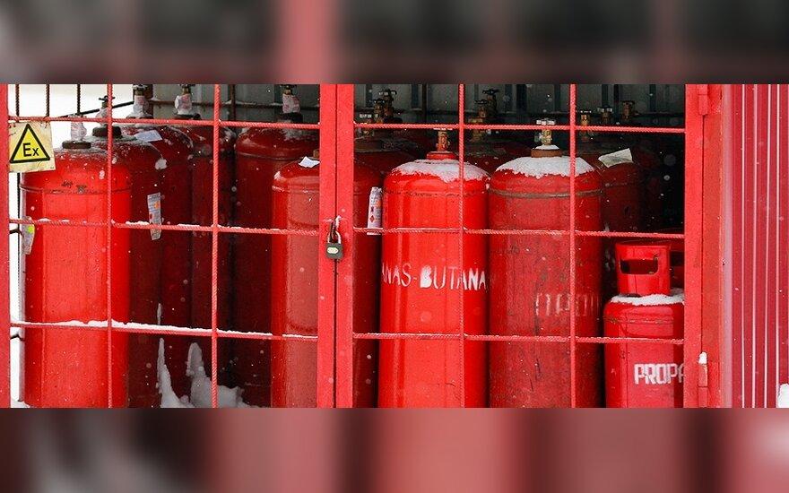 """""""Propano ir butano dujų centrui"""" panaikintas leidimas verstis mažmenine prekyba nefasuotais naftos produktais"""