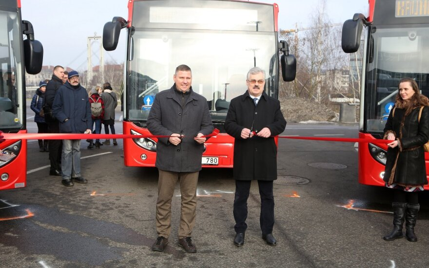 "Naujieji autobusai ""Temsa LF12"""