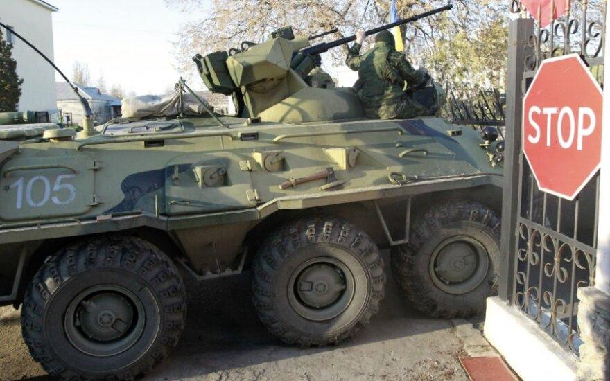 Prie Ukrainos sienos – 83 tūkst. rusų kareivių