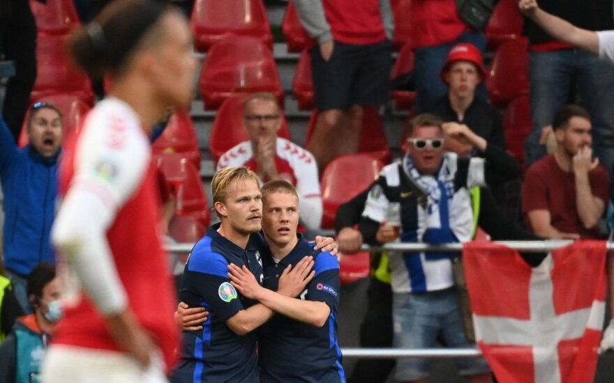 EURO 2020: Danija – Suomija