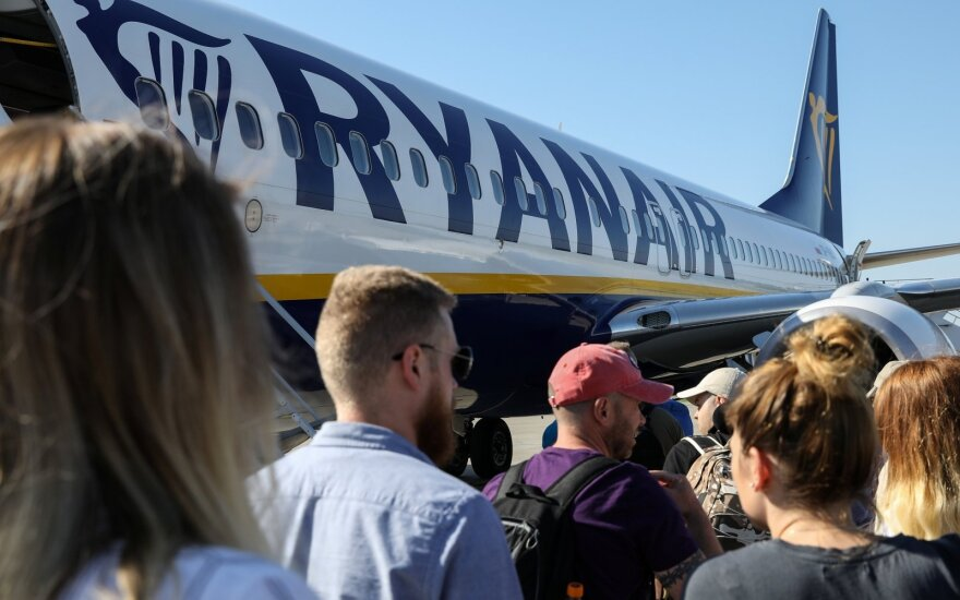 Ryanair announces new route from Kaunas