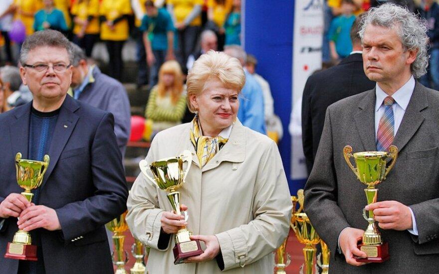 KKSD: sportui per metus Lietuvoje skiriama pusė milijardo litų