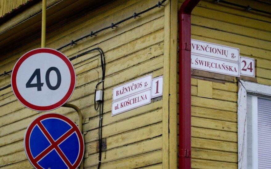 Naujoji Vyriausybė linkusi leisti dvikalbius gatvių pavadinimus ir lenkiškus rašmenis pase