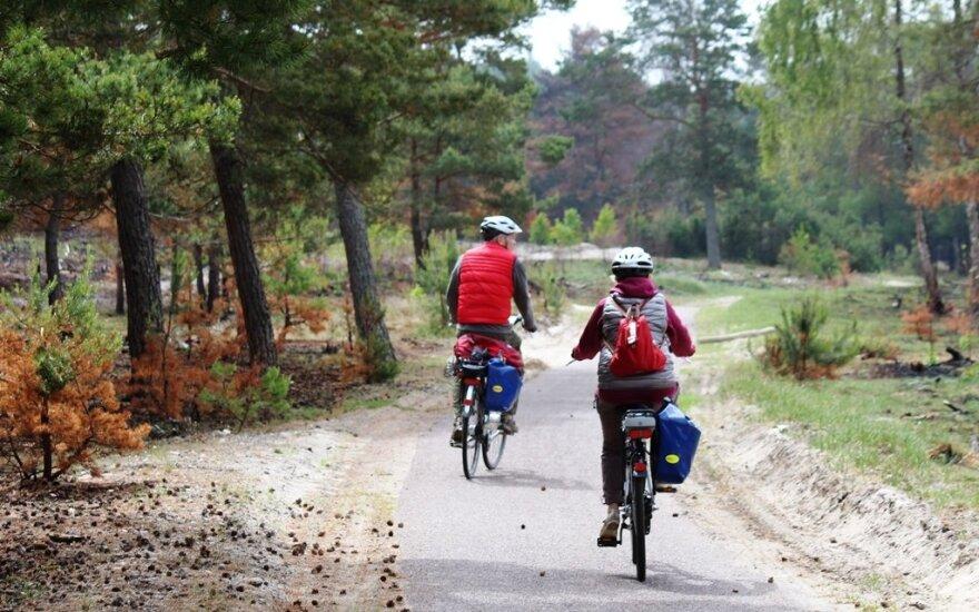 Tarptautinės reikšmės dviračių takas Kuršių nerijoje įgijo šeimininką