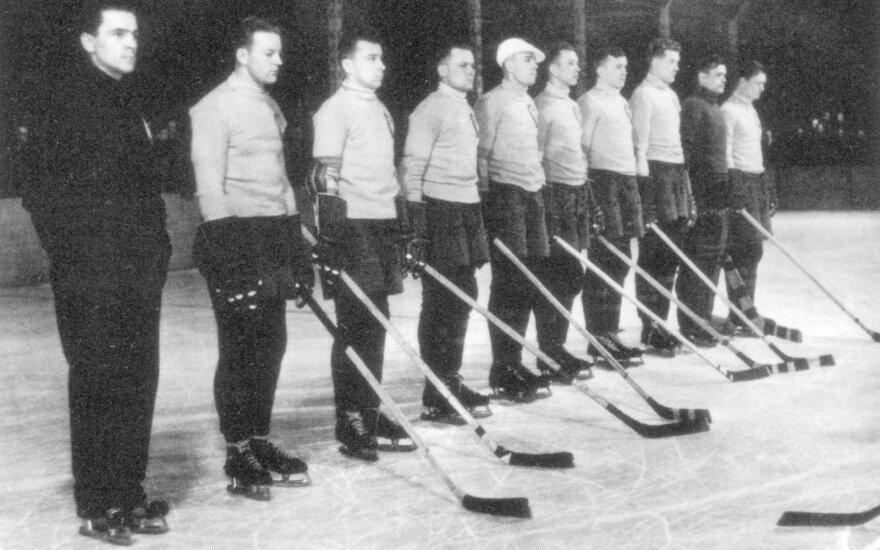Pirmasis Lietuvai pasaulio ledo ritulio čempionatas 1938 metais Čekoslovakijoje