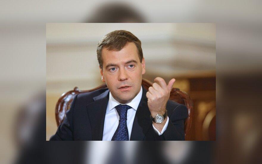 D. Medvedevas prašo bevizio režimo su ES