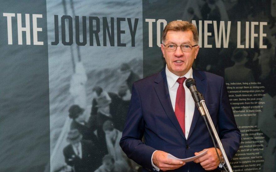 Prime Minister Butkevičius   Photo Ludo Segers