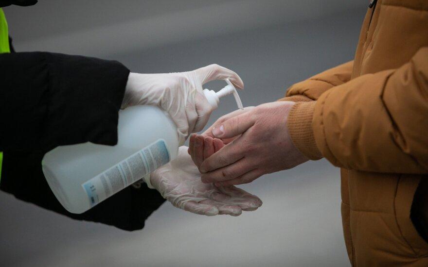 Graikija gamins antiseptiką iš policijos konfiskuoto etilo alkoholio