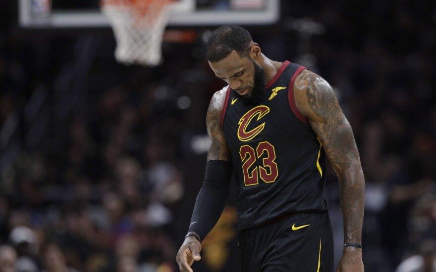 NBA: paskutinysis Cavaliers ir Warriors finalo susitikimas