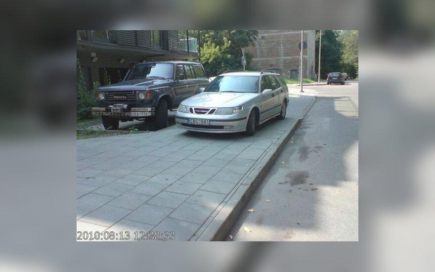 Vilniuje, Sluškų g. 7. 2010-08-13, 12.38 val.