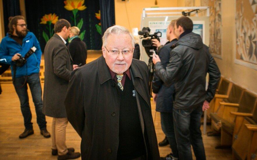 Vytautas Landsbergis siūlo neskubėti su biudžetu: primena vaikų darželį