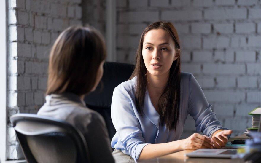 Penki klausimai, kuriuos jums būtinai užduos darbo pokalbyje, ir kas už jų slypi