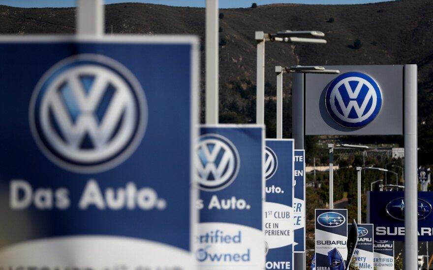 """Permainos ėmė bręsti kilus """"Volkswagen"""" skandalui"""