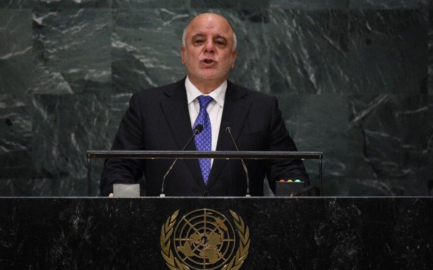 Irako premjeras Haideras al-Abadi